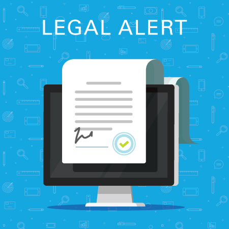 Legal alert document